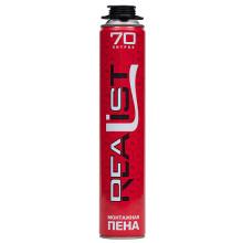 Монтажная пена REALIST PRO RED 70 (ЛЕТО)