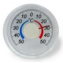 Термометр оконный биметаллический ТББ круглый