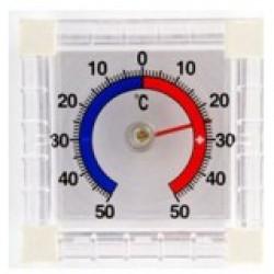 Термометр оконный биметаллический ТББ квадратный