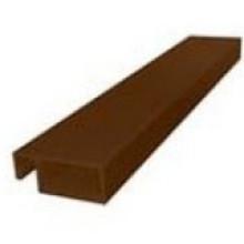 Профиль рамный 25 мм ( коричневый )