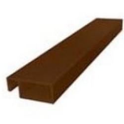 Профиль рамный 32 мм ( коричневый )
