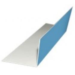 Уголок пластиковый ПВХ ( 10 х 20 мм )
