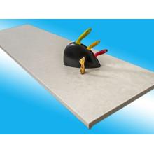 Подоконники ПВХ MOELLER  Светлый мрамор матовый 150 - 600 мм